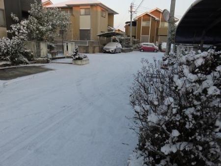 家の前雪 006