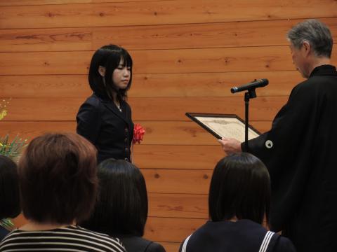 吉野せい賞表彰式 1