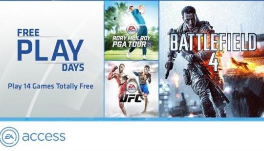 Xbox Live Gold Members Can Play Every Game In EA Access Free Next Week Only On Xbox One