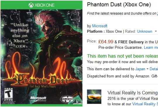 Phantom Dust (Xbox One)