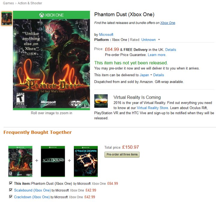 Phantom Dust (Xbox One)-full