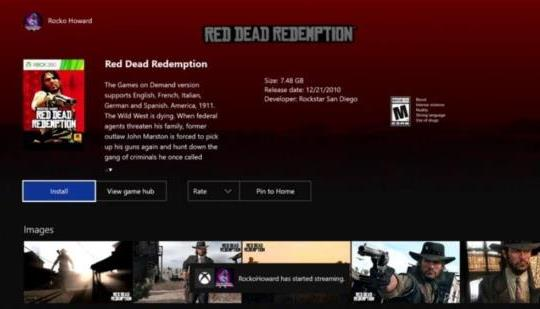 Red Dead Reremption