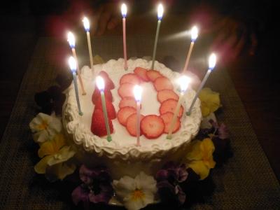 M_studiomimosa10Bケーキ