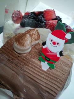 ちーちゃんからケーキ