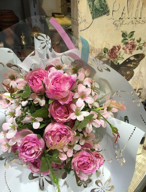 花束2ピンク