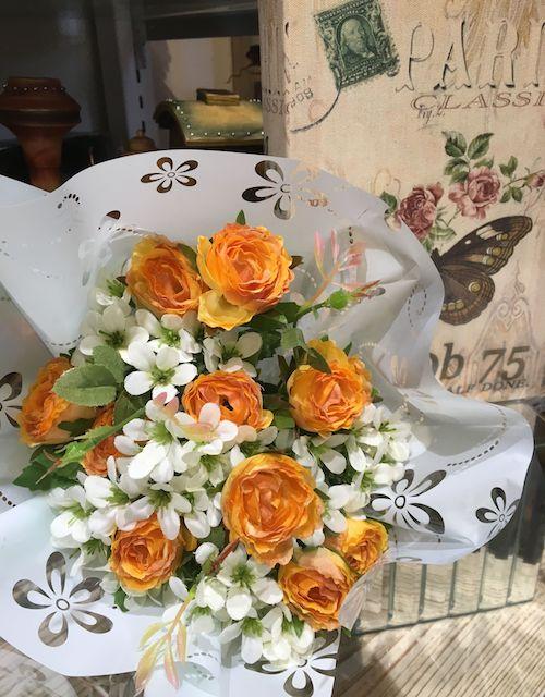 花束2オレンジ