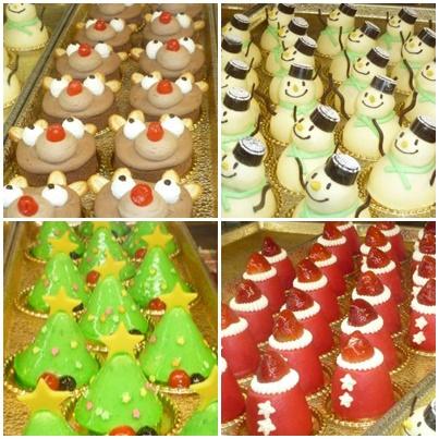 クリスマス仕様ケーキ