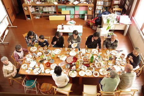 味噌づくりの会新年会1