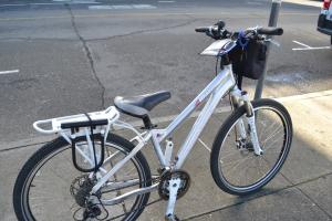 自転車を入手