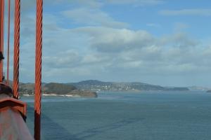 橋から見える向こう岸