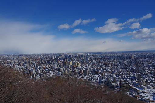 この時、氷点下5度の札幌