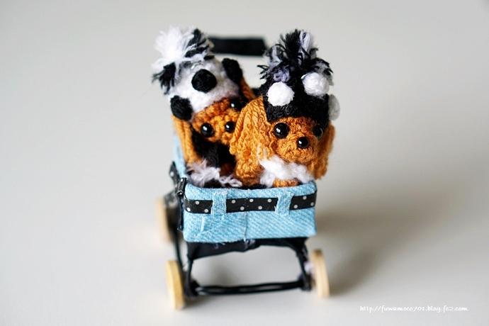 チビプードルモコの毎日☆モコみるく編みぐるみ