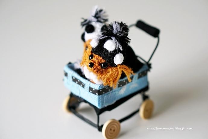 チビプードルモコの毎日☆モコみるく編みぐるみA