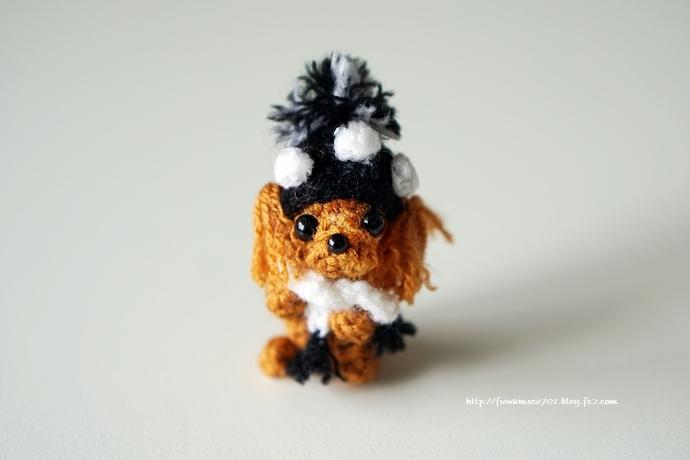 チビプードルモコの毎日☆モコ編みぐるみ
