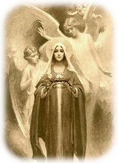 マリアと天使