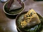 おにぎり2個@三田製麺所阿倍野店