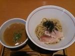 鰤白湯つけ麺 ~鰤タタキ添え~@麺と心7