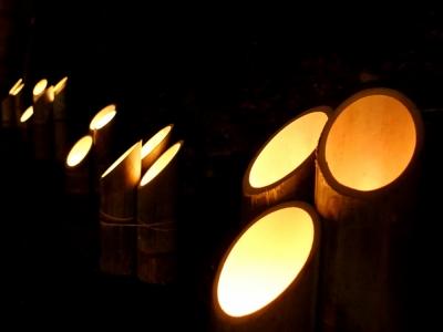 竹灯篭まつり