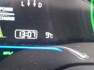 20160213気温9℃