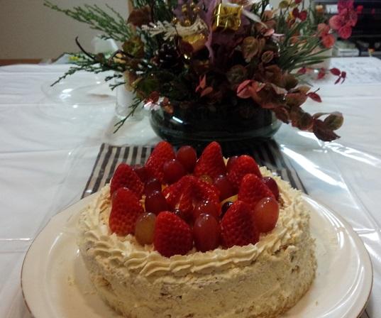 2015.12クリスマスケーキ