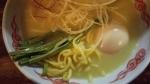 ぶらり 鶏白湯味玉入り 麺 15.12.19
