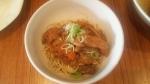 coi.coi 週末限定和え麺 モツ煮 16.1.23