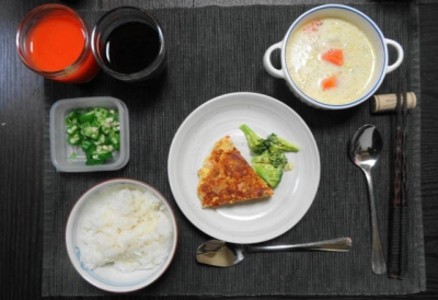胃に優しい夕食メニュー