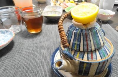 土瓶蒸しとお寿司のシンプルディナー