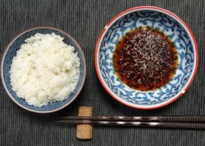 ポン酢ダレ&ご飯