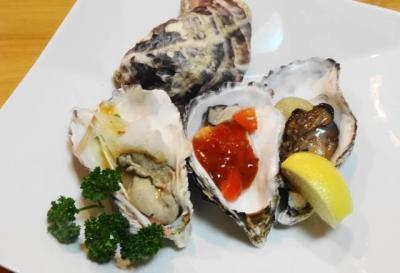 広島牡蠣 三色盛り合わせ