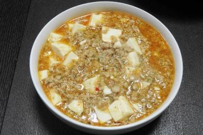 麻婆豆腐 大鉢盛り