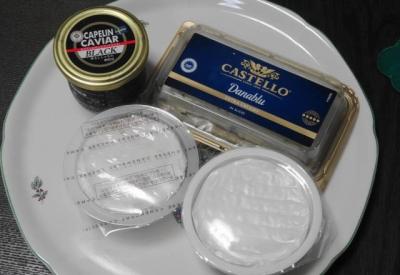チーズ&キャビア