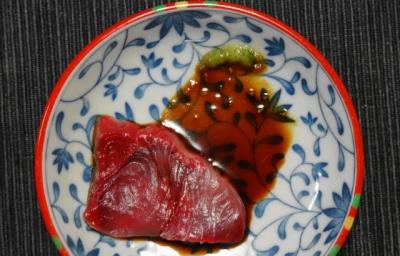 ぶり刺身・醤油