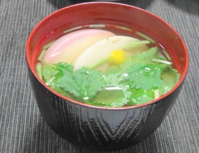 ラスト雑煮風豆腐汁