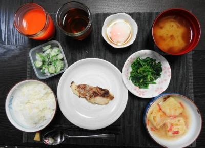 タラの西京焼き マクロビご飯