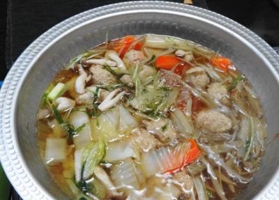 鶏つみれのちゃんこ鍋