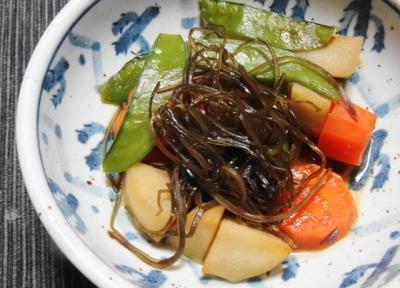 里芋の昆布煮