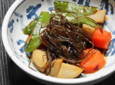 里芋の昆布煮UP