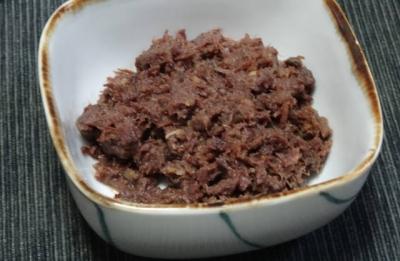牛肉のそぼろ煮