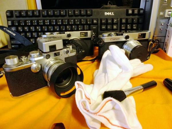 Lマウントカメラ清掃