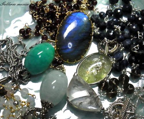 天然石のネックレス7