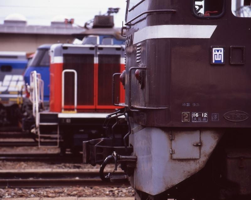 吹田機関区 EF65-67