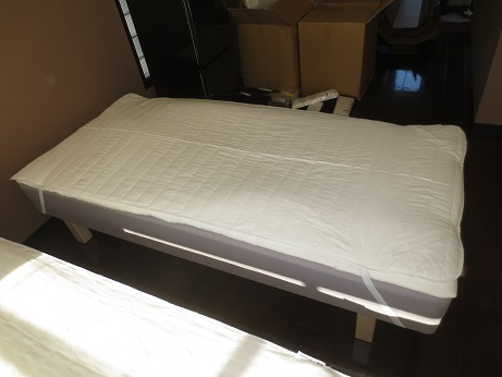 DIYベッドマットカバー