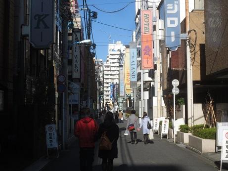 見学会歌舞伎町ホテル街