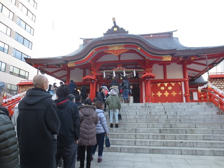 見学会花園神社