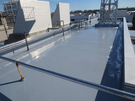 屋上防水工事完成1