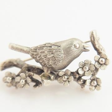 春告鳥-01(ブローチ) ①900×900