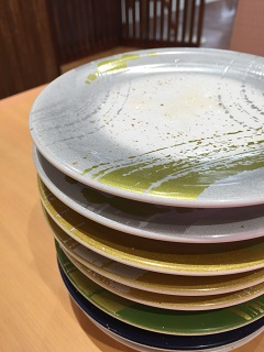 回転寿司 トポス 皿