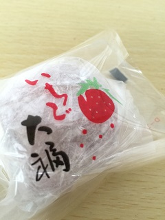 竹家 竹内菓子舗 いちご大福