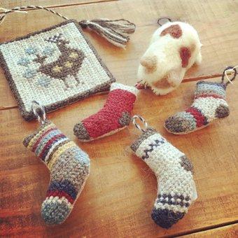 クリスマス2015イメージマップさん刺繍